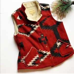 Up Country by Du Monde Western Style Sherpa Vest